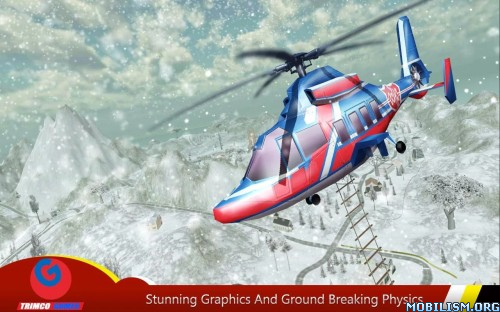 Helicopter Hill Rescue 2016 v1.6 [Mod Money/AdsFree] Apk