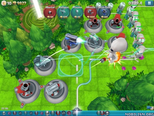 Tower Madness 2: 3D Defense v2.1.1 [Mod Money] Apk