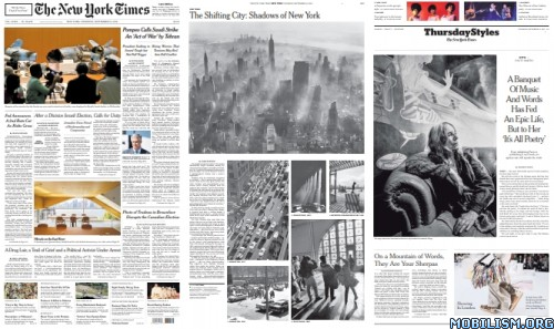The New York Times – September 19, 2019