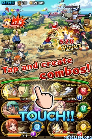 LINE: ONE PIECE TreasureCruise v4.1.0 [Mod] Apk
