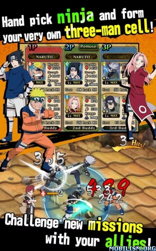 Ultimate Ninja Blazing v1.1.4 (Mods) Apk