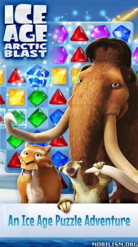 Ice Age: Arctic Blast v1.9.847 (Mod Lives/Boosters) Apk