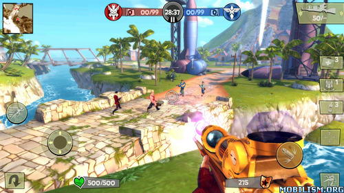 Blitz Brigade - Online FPS fun v2.1.0i (Mod) Apk