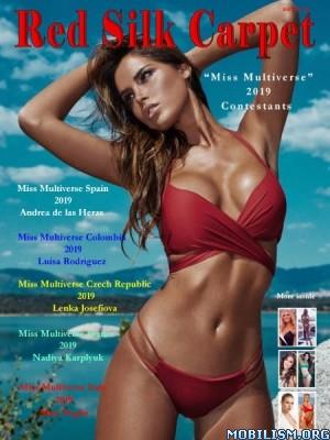 Red Silk Carpet – Miss Multiverse 2019