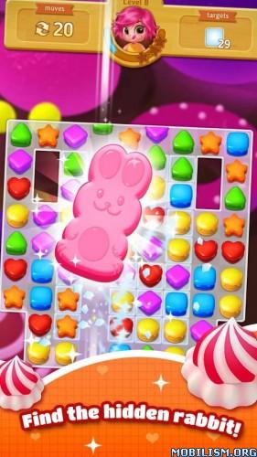 Sweet Cookie Blast v1.21 [Mod Gems] Apk