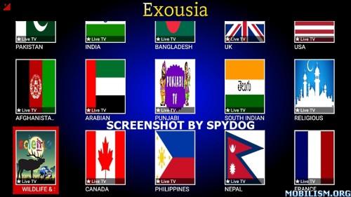 Exousia APK IPTV Mod Apk (Ads Free) 3