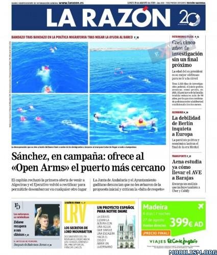 La Razón – 19 August, 2019 [ESP]