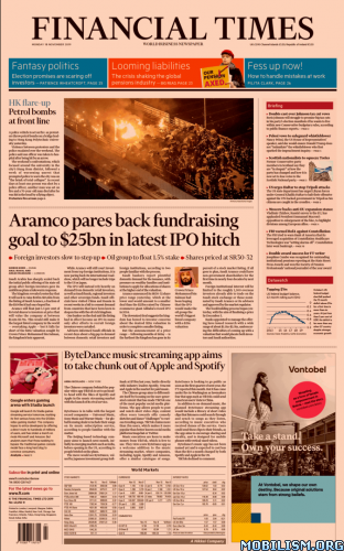 Financial Times UK – 18 November 2019