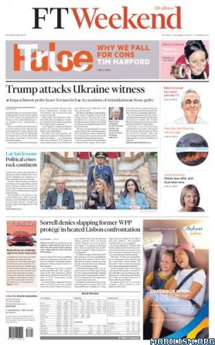 Financial Times Weekend USA – November 16/17, 2019