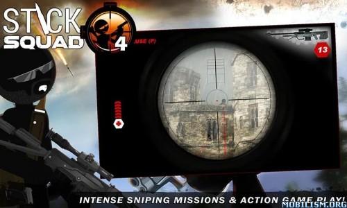 Stick Squad 4 - Sniper's Eye v1.2.5 (Mod Money) Apk