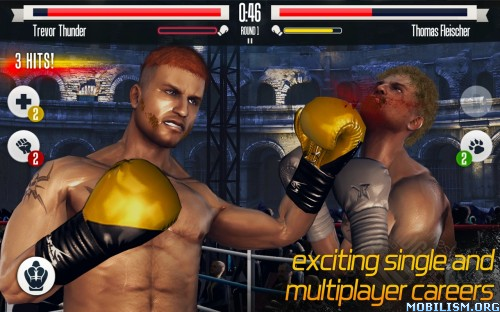 Real Boxing v2.3.2 (Unlimited Money & Unlocked) Apk