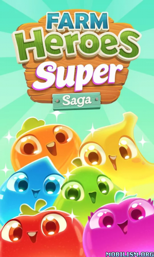 Farm Heroes Super Saga v0.42.9 [Mods] Apk