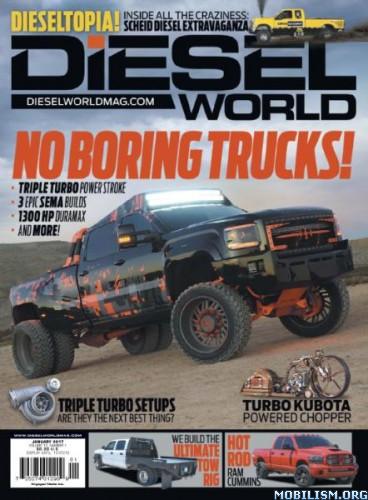 Download ebook Diesel World - January 2017 (.PDF)