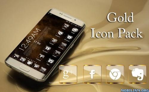 ?dm=CQ78 - Golden Glass Nova Icon Pack v6.0 [Paid]
