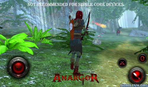 World of Anargor - 3D RPG v1.3 + (Mod Money) Apk