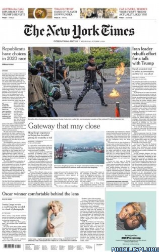 International New York Times – 02 October 2019