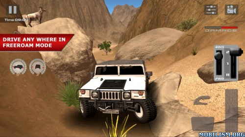 OffRoad Drive Desert v1.0 Apk