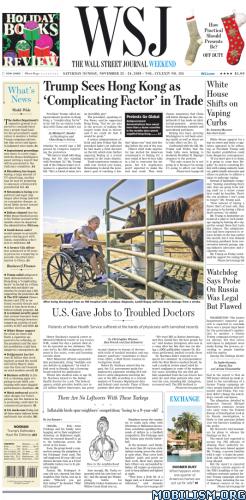 The Wall Street Journal Weekend – November 23/24, 2019