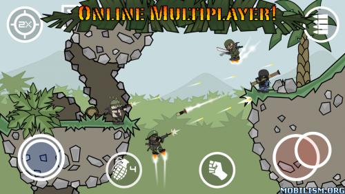 Doodle Army 2 : Mini Militia v2.2.86 [Mod] Apk