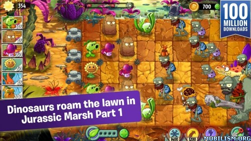 Plants vs. Zombies 2 v4.2.1 (Mod/Official) Apk
