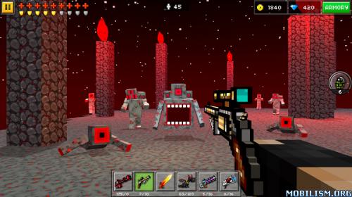 Pixel Gun 3D (Pocket Edition) v11.0.0 [Mod Money/Online] Apk