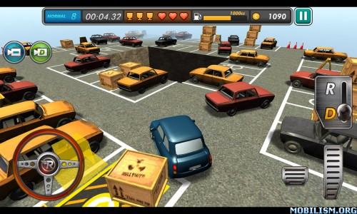 RealParking3D Parking Games v3.04 (Mod Money) Apk