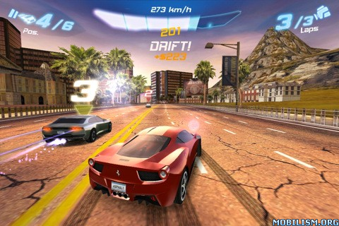 Asphalt 6 Adrenaline 1.3.2 (iPhone.iPod)