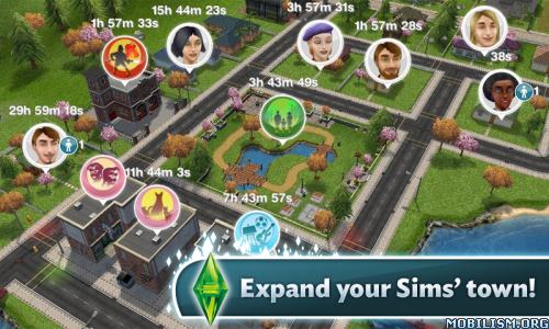 The Sims FreePlay v5.20.2 (Mod Money/LP/Social Points)E Apk