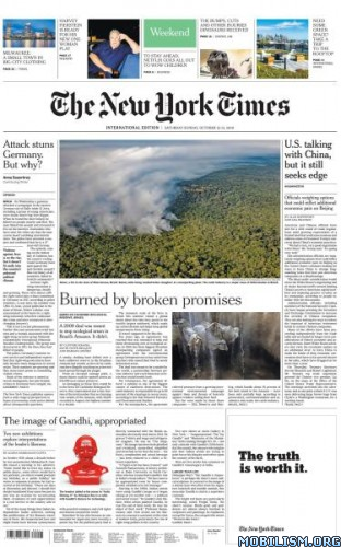 International New York Times – 12/13 October 2019