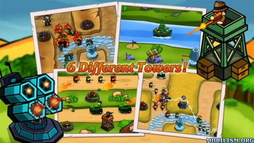 Jungle Defense TD v1.2.0 [Mod Money] Apk