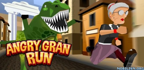 Angry Gran Run - Running Game v1.27 (Mods) Apk