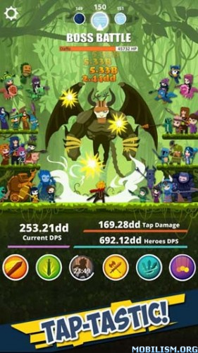Tap Titans v3.2.2 (Cheat Menu) Apk