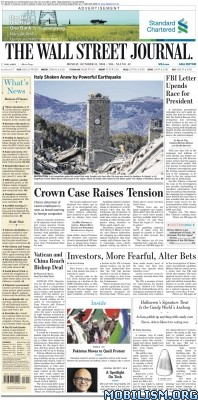 Download ebook The Wall Street Journal – 31 October 2016 / Asia (.PDF)