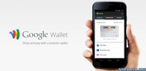 Mod Android] Google Wallet v2 0-R155-v15-RELEASE φ Full