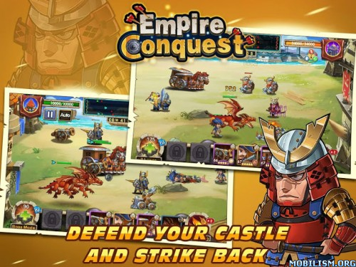Empire Conquest v1.1.4 (Mod Money) Apk