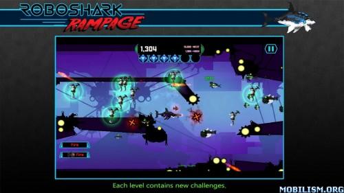 Robo Shark Rampage v1.0 + Mod Apk