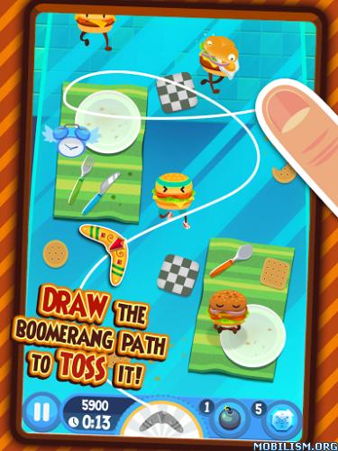 Burgerang - The Food Wars v1.4.3 (Mod Money)
