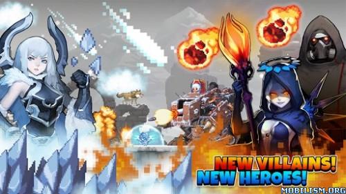 Crusaders Quest v2.1.11.KG [Mods] Apk