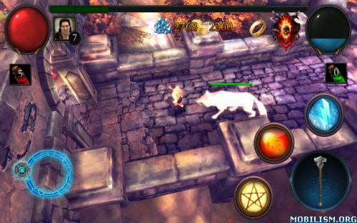 Glory Warrior:Lord of Darkness v1.0.1 [Mod Money] Apk