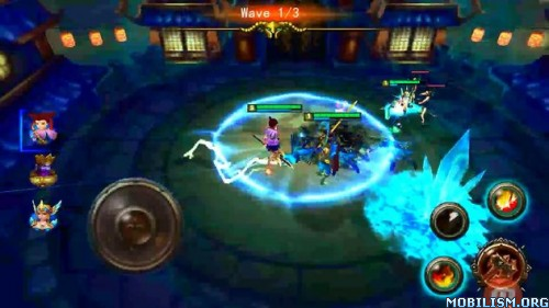 Heroes of Titans v1.2 (Mod) Apk