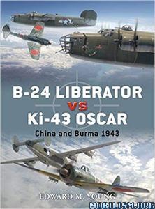 B-24 Liberator vs Ki-43 Oscar by Edward M. Young