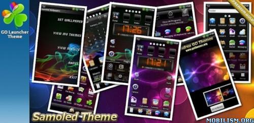 Samoled GO Launcher EX Theme v1.01 apk