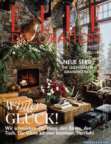 Elle Decoration Germany – November/Dezember 2019 [GER]