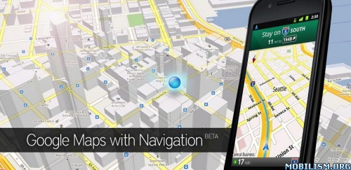 Google Maps v5.6.2 Mod for android