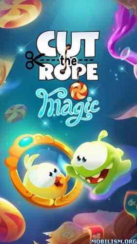 Cut the Rope: Magic v1.1.0 (Mod Gems/Hints) Apk