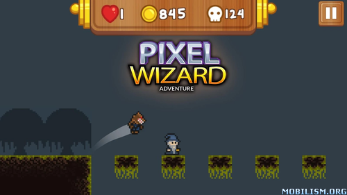 Pixel Wizard: 2d Platform RPG v31 [Mod Money] Apk