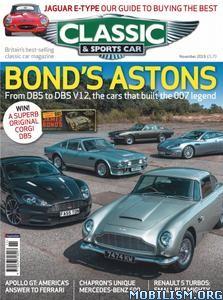 Classic & Sports Car UK – November 2019