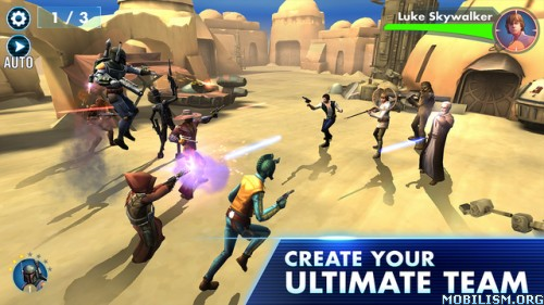 Star Wars: Galaxy of Heroes v0.2.110292 [Unlimited Energy] Apk