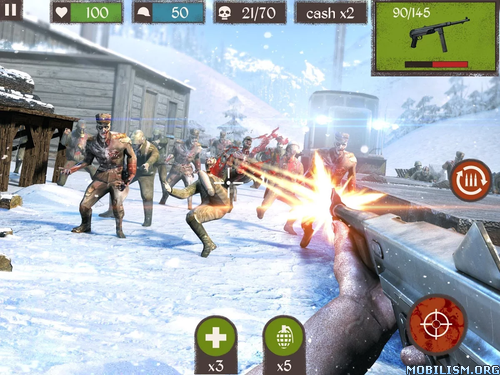 Zombie Call: Dead Shooter FPS v1.3 [Mod Money/Ad-Free & More] Apk
