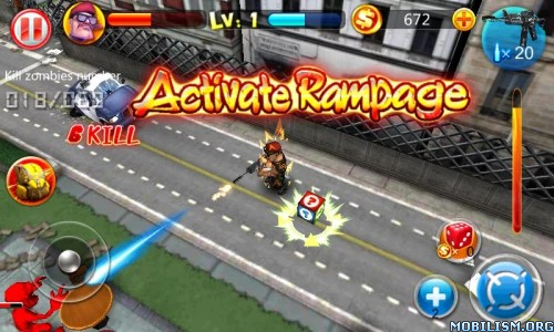 Zombie Craze v1.0.6 [Mod Money] Apk
